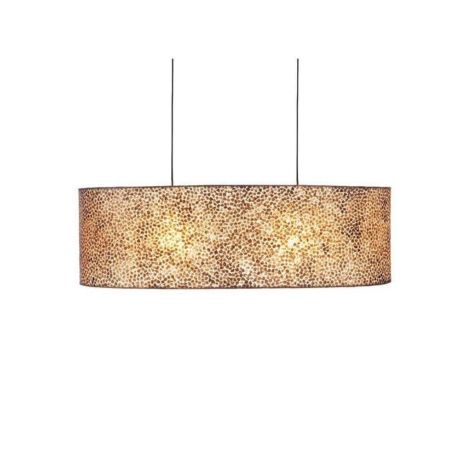 Villaflor schelpenlamp - Wangi Gold - hanglamp Bintan