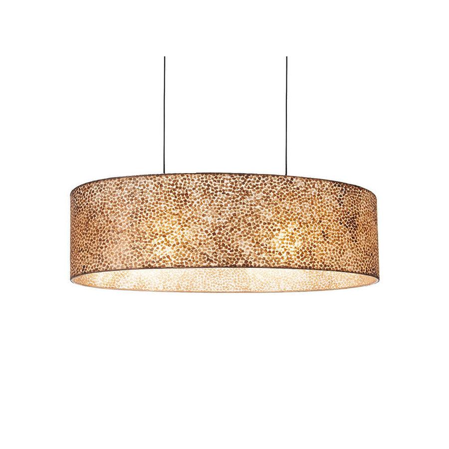Villaflor Villaflor schelpenlamp - Wangi Gold - hanglamp Bintan