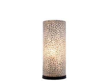 Villaflor Schelpenlamp - Wangi White - Cilinder - 30 cm