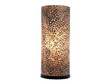 Villaflor Schelpenlamp - Wangi Gold - Cilinder - 40 cm