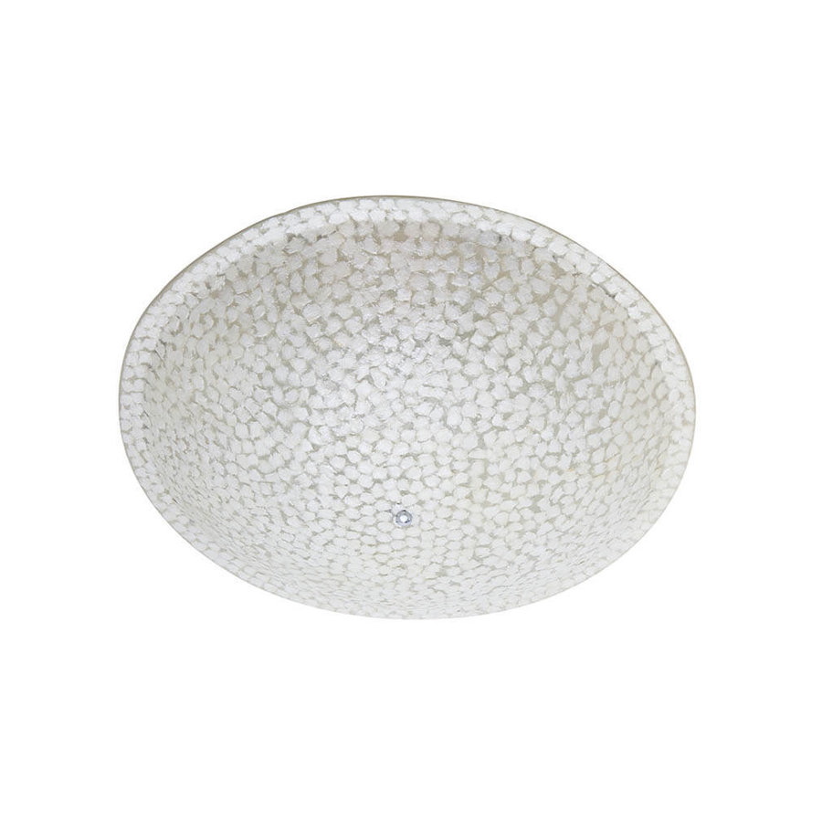 Villaflor Villaflor schelpenlamp - Wangi White - Plafonnière Moon - Ø 45 cm