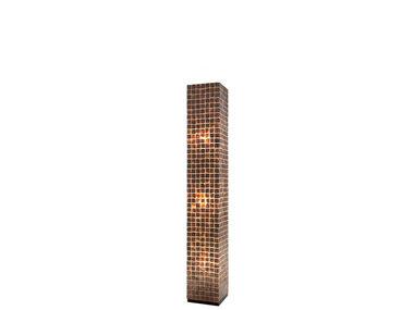 Villaflor Schelpenlamp - Moni Gold - Vierkant - 150 cm