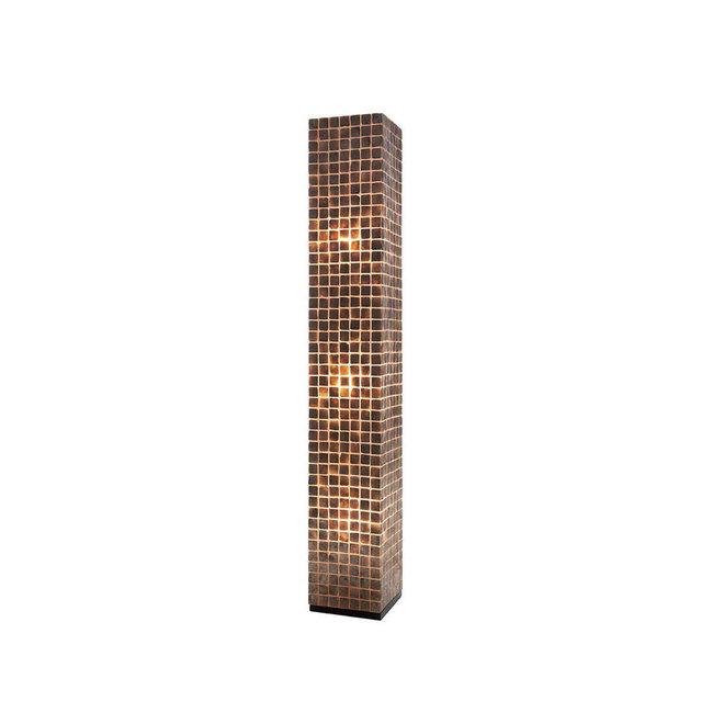 Schelpenlamp - Moni Gold - Vierkant - 200 cm