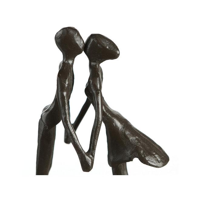 Metal-Sculpture 'Heartbeat'