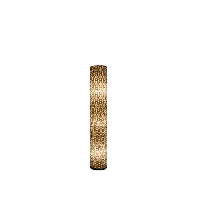 Schelpenlamp - Cubes - Cilinder - 150 cm