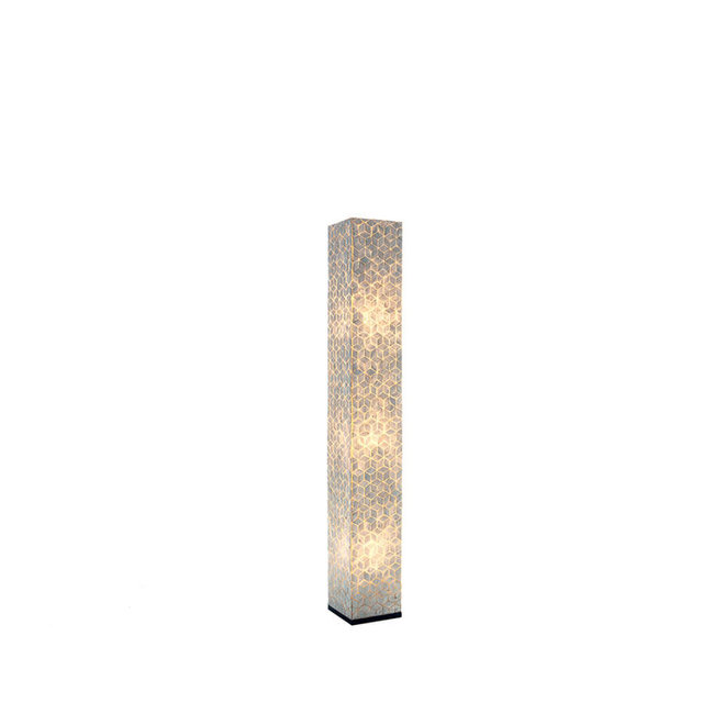 Schelpenlamp - Cubes - Vierkant - 150 cm