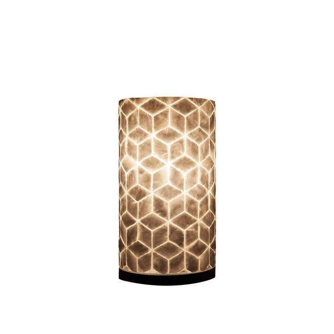 Schelpenlamp - Cubes - Cilinder - 30 cm