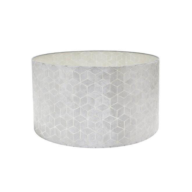 Villaflor schelpenlamp - Cubes - Losse kap - cilinder Ø 55 cm
