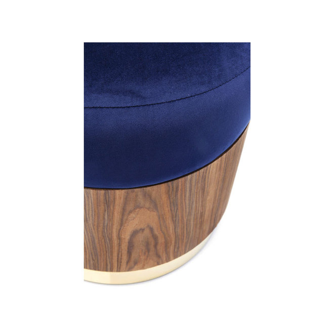 Stool Lilly Blue