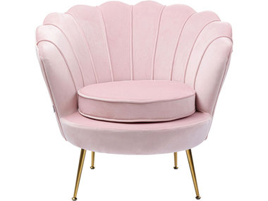 Kare Armchair Water Lily Rose