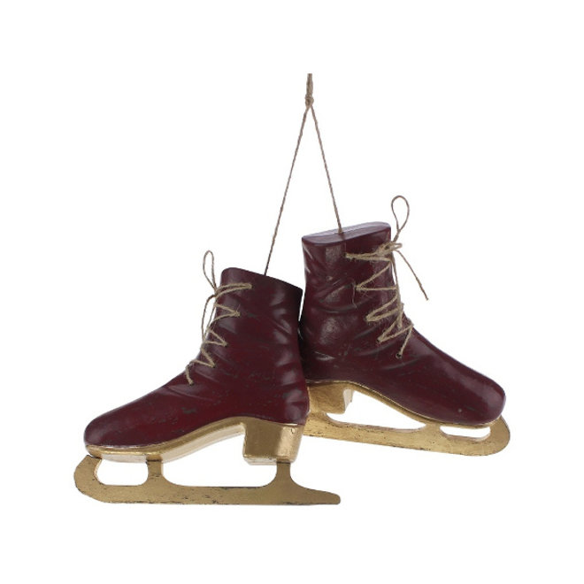 Deco Paar Schaatsen