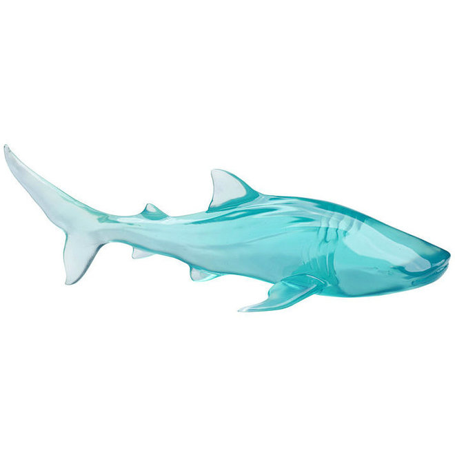 Deco object visible shark blue