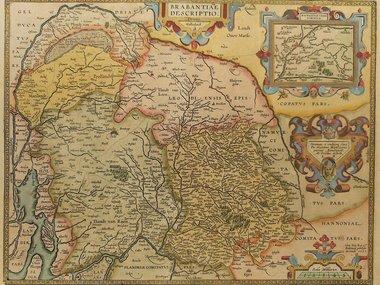 Gouldmaps Ortelius A. - Brabantiae descriptio. - 1612
