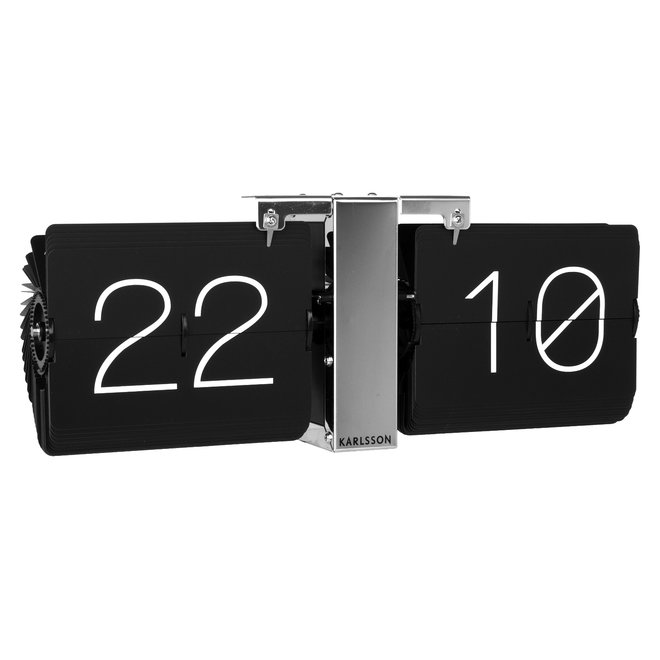 Flip clock No Case black