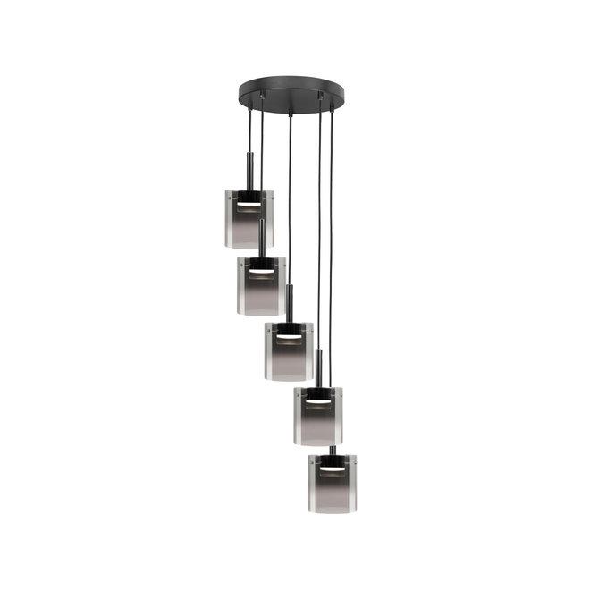 Hanglamp Salerno Rond 5-lichts