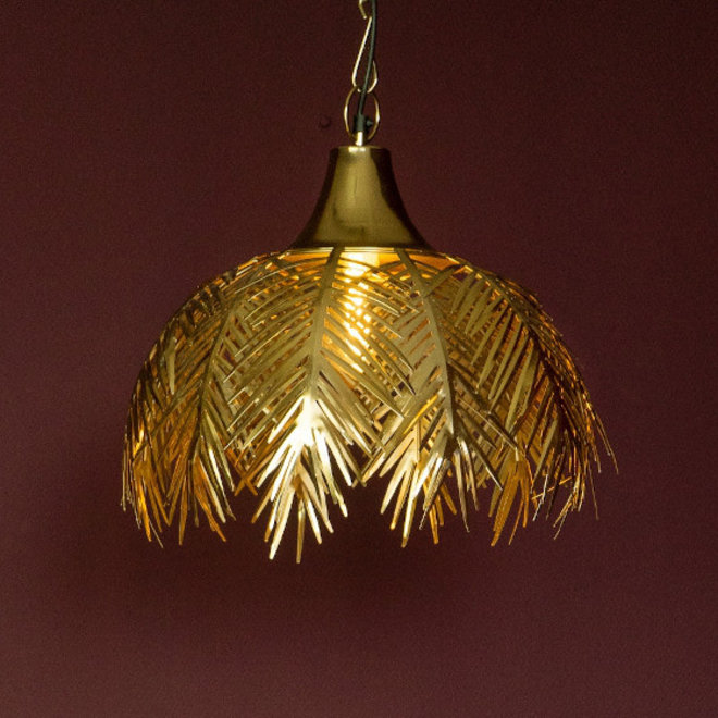 Hanglamp Palm Bladeren