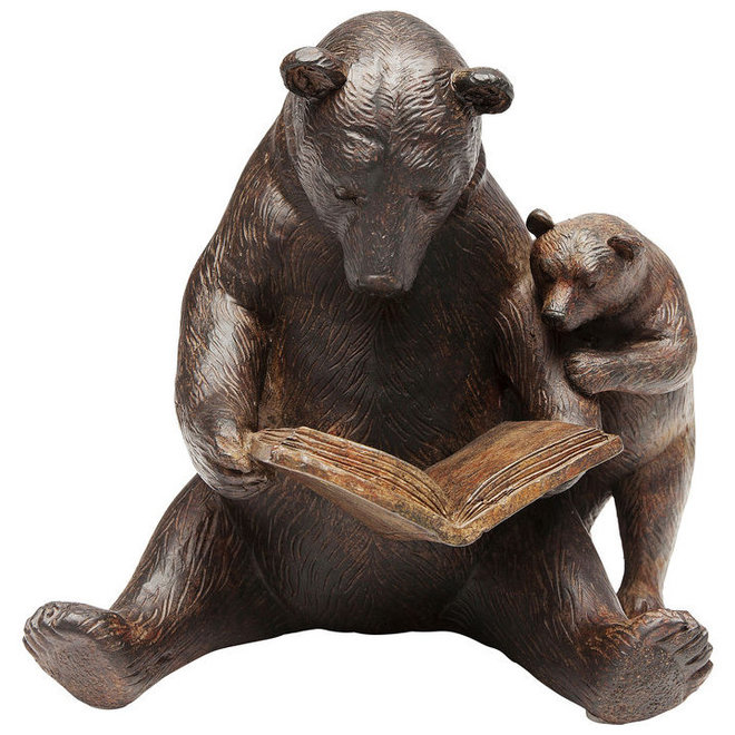 Deco Object Reading Bears