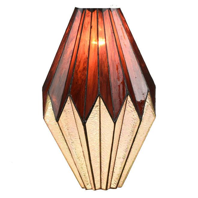 Tiffany Hanglamp Origami, pendant square