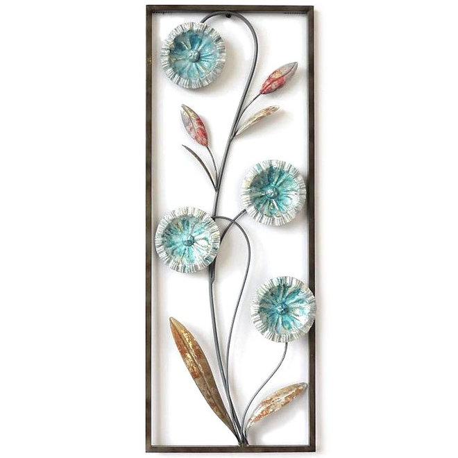 Frame Art  Flowering Plant 73x28