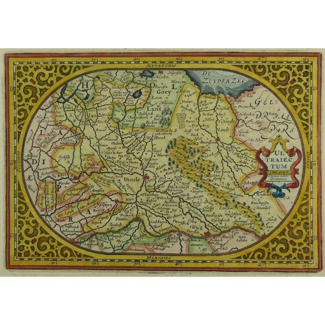 Collectie Gouldmaps - Utrecht; Janssonius J. / A.Goos - VLTRAIECTVM
