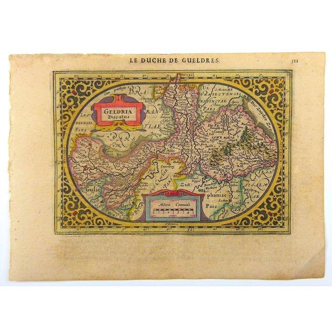 Collectie Gouldmaps - Gelderland; J. Janssonius / A. Goos - Geldria Ducatus - 1630