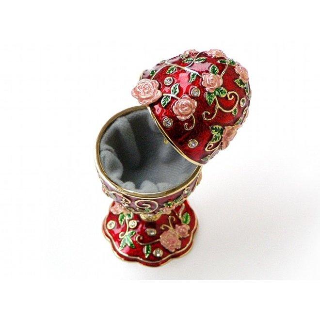 Decoratie Ei 'Rozenranken' Glockenspiel