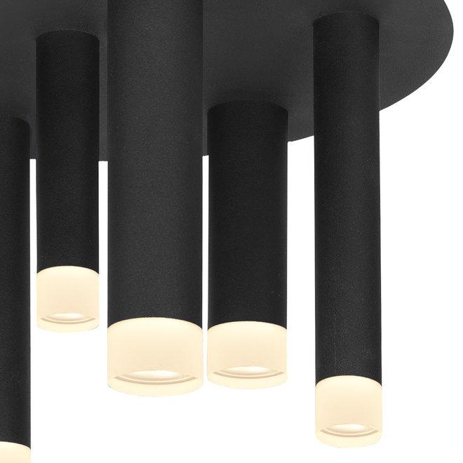 Plafonnière Tubes 7 lichts