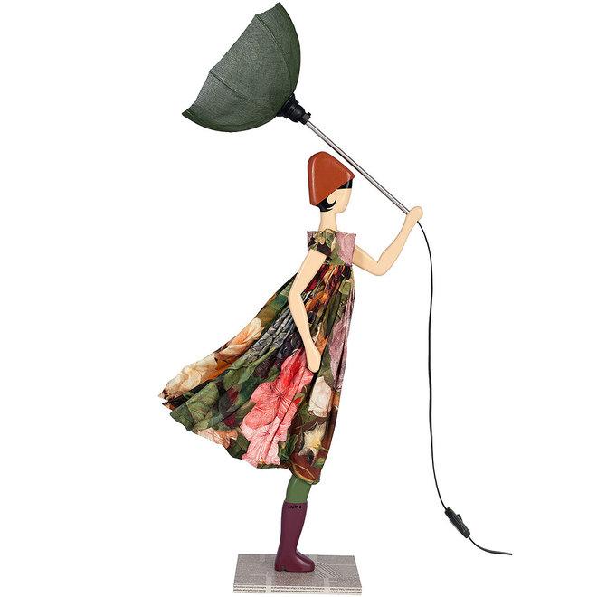 Tafellamp Paraplu dame Mickela