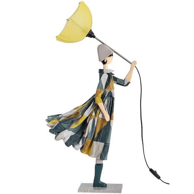 Tafellamp Paraplu dame Trigona