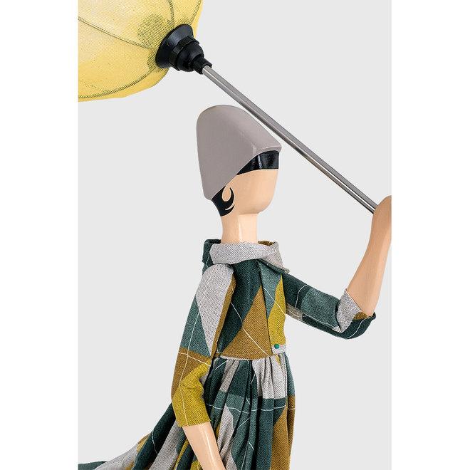 Skitso Tafellamp Paraplu dame Trigona
