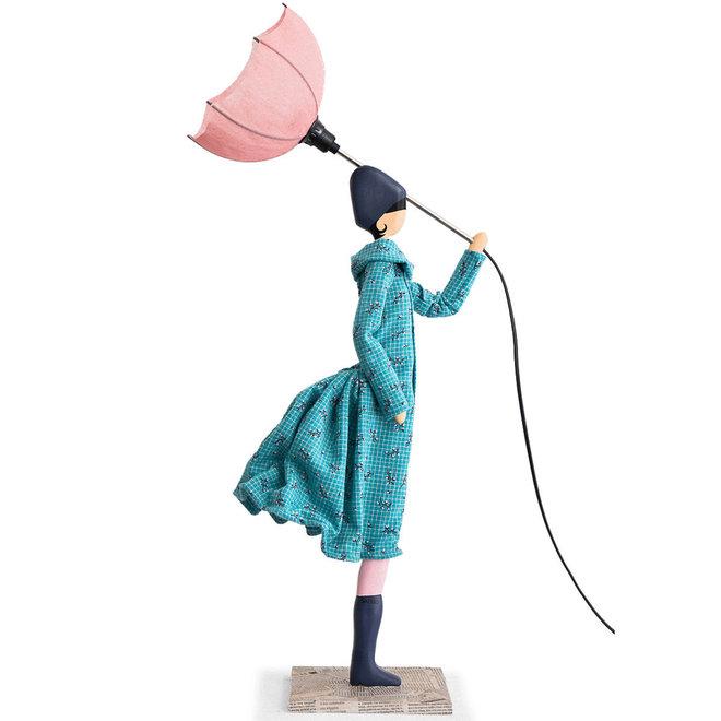 Tafellamp Paraplu dame Bler