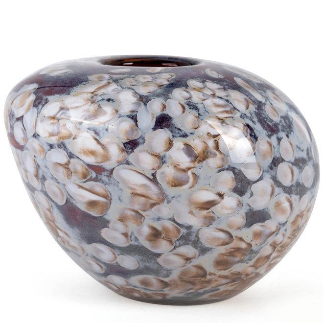Glass Art Vaas Naturalis, Hazel