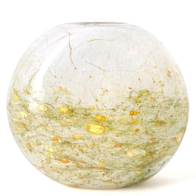 Glass Art Vaas Coco, Misty Green