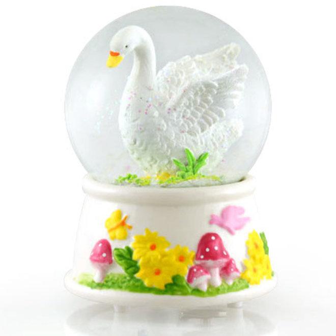 Sneeuwbol Witte Zwaan