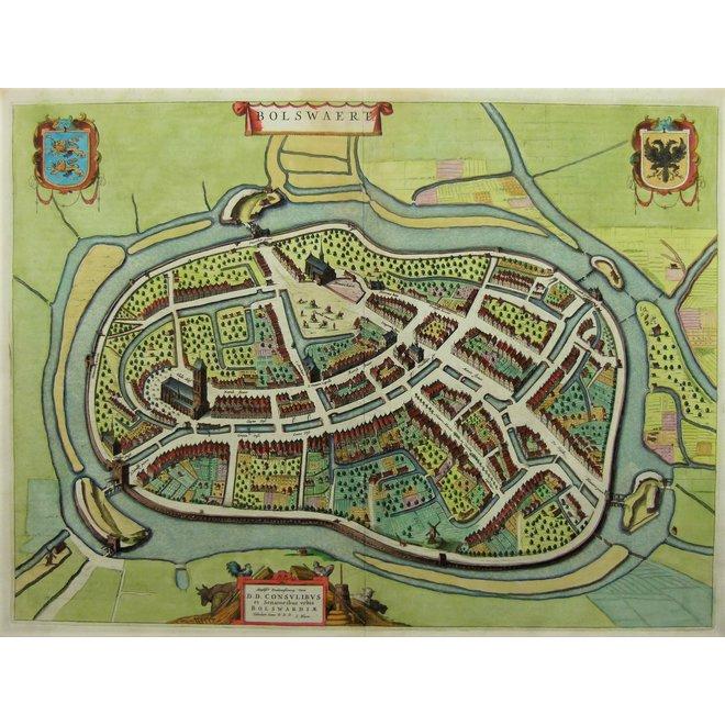 Collectie Gouldmaps - Bolsward; J. Blaeu - Bolswaert. - 1649