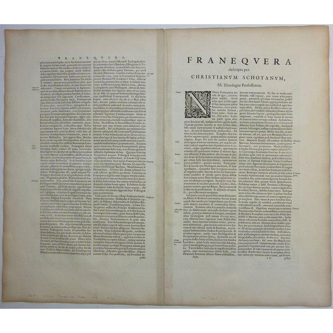 Collectie Gouldmaps - Franeker; J. Blaeu - Franekera. - 1649