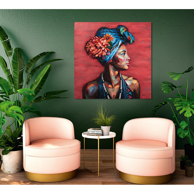 Canvas schilderij The Scent of Africa 100x100