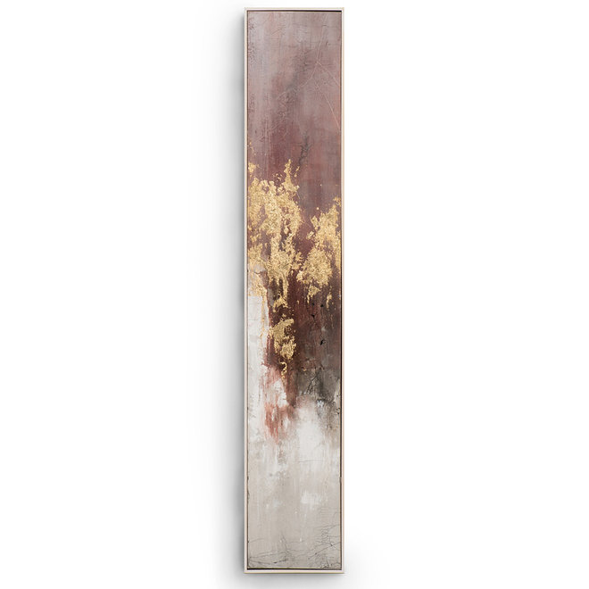 Painting Hot Shower A Framed 27x152