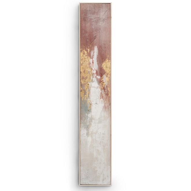 Canvas schilderij Hot Shower B Framed 27x152