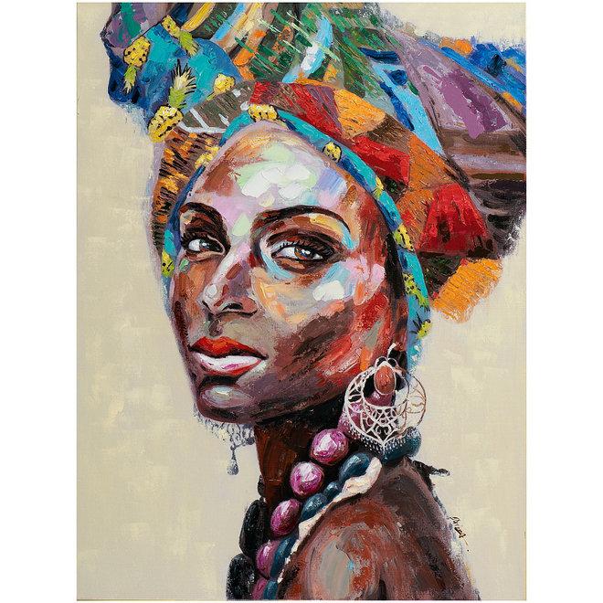 Canvas schilderij The Spirit of Africa 90x120
