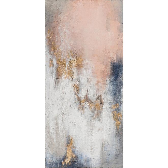 Canvas schilderij Hot Shower 70x150
