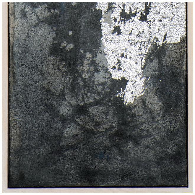 Canvas schilderij Silver Twilight A Framed 27x152