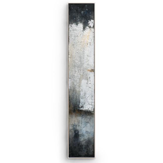 Canvas schilderij Silver Twilight B Framed 27x152