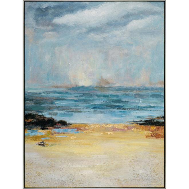 Canvas schilderij Changing Weather Framed 90x120