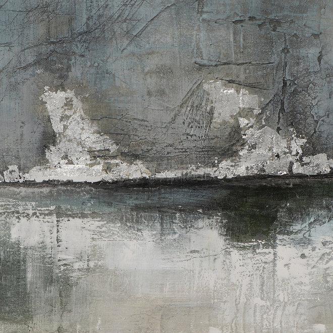 Canvas schilderij Steaming Fog 70x140