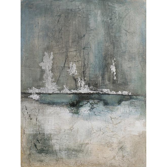 Canvas schilderij Steaming Fog 120x90