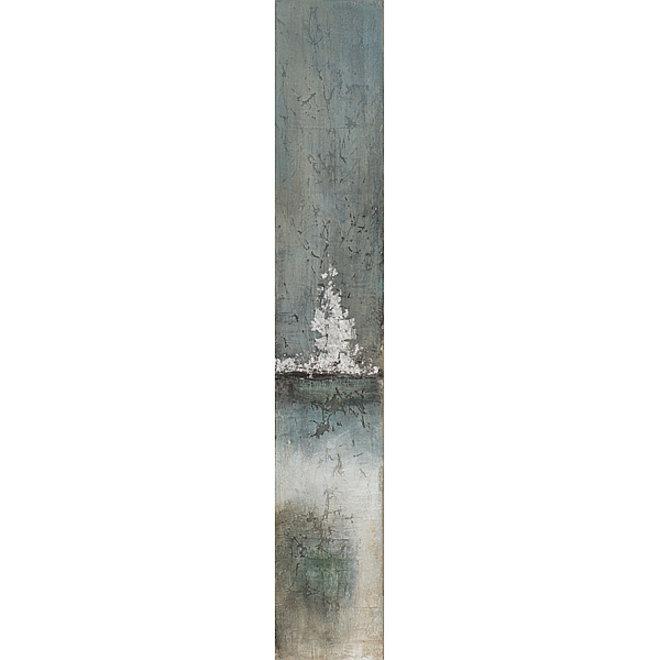Canvas schilderij Steaming Fog 25x150