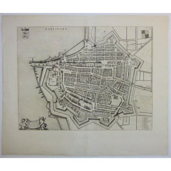 Collectie Gouldmaps - Harlingen; J. Blaeu - Harlingen.- 1649