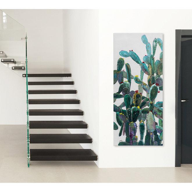 Canvas schilderij Opuntia Ficus-Indica 70x160