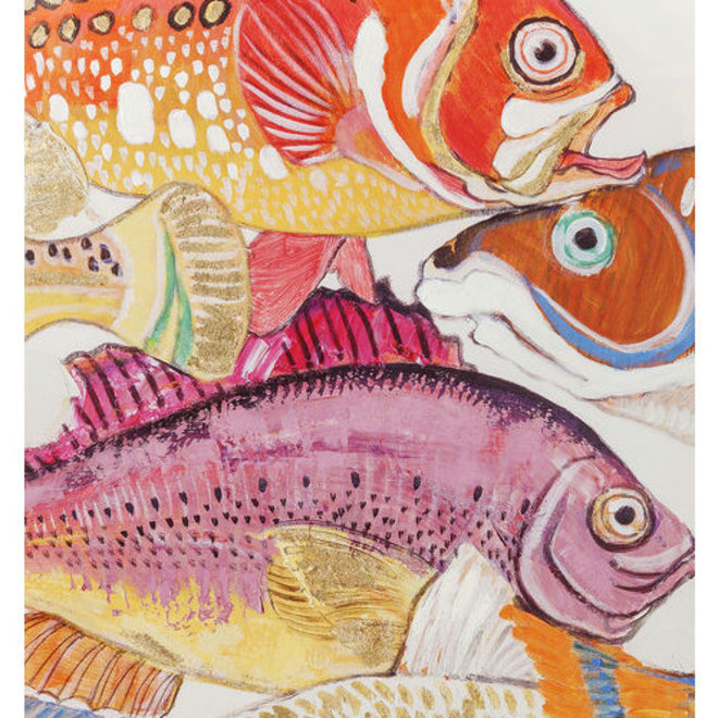 Painting Touched Fish Meeting One
